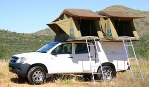 Odyssey Car Hire Hilux Double Cab Camping