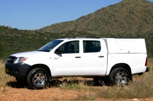 Odyssey Car Hire Hilux Double Cab