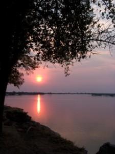 Landscapes - Zambezi River sunset